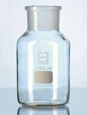 Standfles Wijdhals 1000 ml / Borosilicaatglas