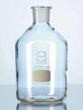 Standfles Nauwhals 50 ml / Borosilicaatglas