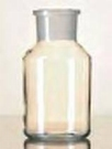 Standfles Wijdhals 100 ml / Kalk-Sodaglas