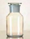 Standfles Wijdhals met NS stop 50 ml / Kalk-Sodaglas